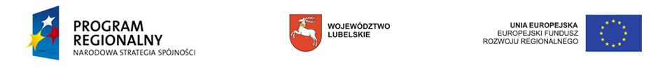 Projekt współfinansowany ze środków Europejskiego Funduszu Rozwoju Regionalnego w ramach Regionalnego Programu Operacyjnego Województwa Lubelskiego na lata 2007-2013